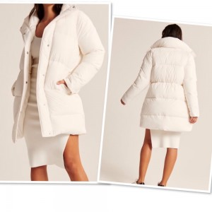 Stunning Abercrombie& Fitch Puffer Coat