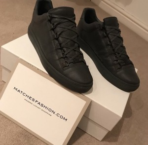balenciaga grey: size 8 UK / 42 EU