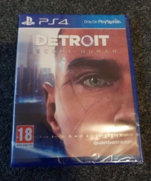 Brand New Detroit:Become Human PS4 Game