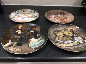Collectors plates £6 each make me an reasonable offer