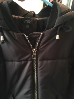 Women's topshop coat