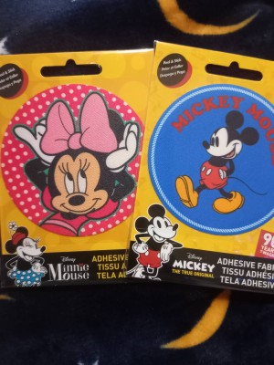 Mickey and Minnie Mouse Patch