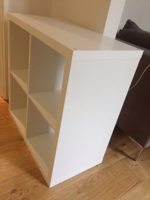 2x IKEA bookcases available - great condition- ONLY COLLECTION FROM NOTTING HILL GATE