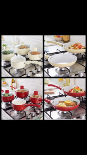 Sauce pans and frying pans