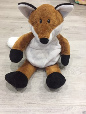 Fox microwaveable soft toy