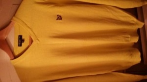 Lyle And Scott Men's X- Large V-neck Jumper
