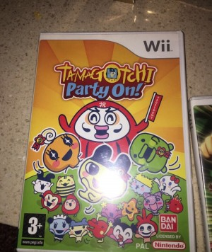 Tamagotchi party on Nintendo game