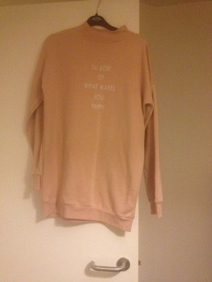 atmosphere pink sweatshirt jumper size 10 new