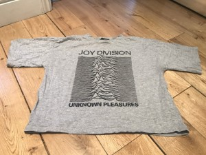 Joy Division Band Tee Size 8 Cool Indie Edgy Alternative Hipster Chic