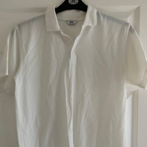 Boys BHS white polo shirt size 13 years