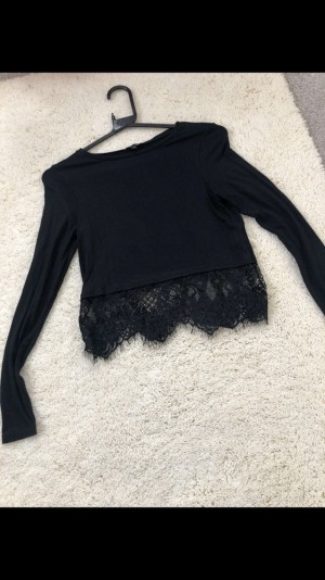 River island Lacey crop top
