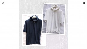 New white or navy hoody t shirt free size Adults