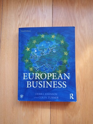 European Business by Johnson and Turner