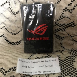 ASUS ROG pass case/boarding pass.