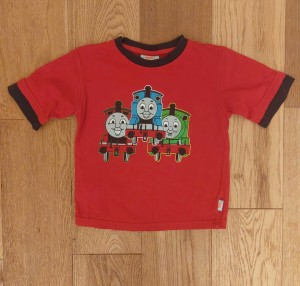 Thomas the Tank Engine t-shirt - ages 3-4
