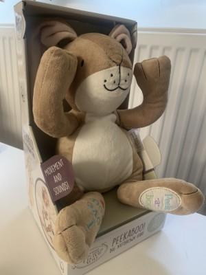 Peekaboo Big Nutbrown Hare (for babies and toddlers)