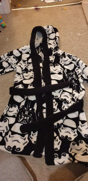Star trooper dressing gown