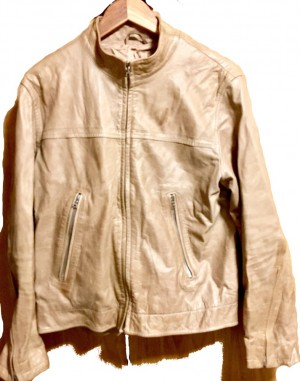 French Connection Leather Racer jacket
