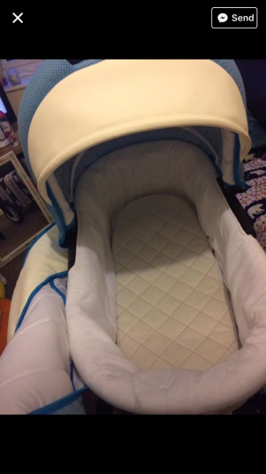 White lux peak/pushchair only been used for 5 weeks