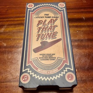 Play That Tune Game Catchy Tunes Kazoo Game Fun Party Family Activity