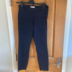 Blue pull on trousers