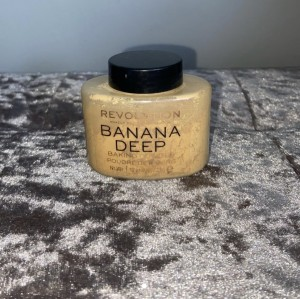 Banana deep baking powder