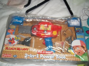 2 in 1 power tool toy