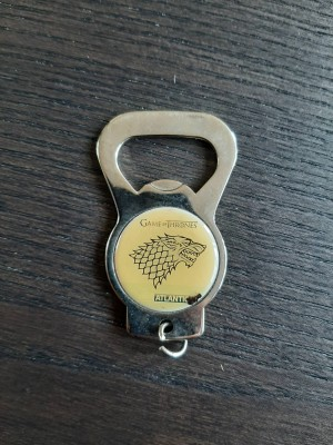 Game of thrones bottle opener and keyring
