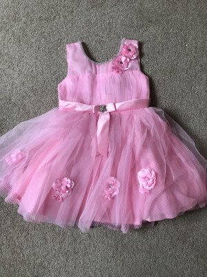 2-3 years pink dress brand new