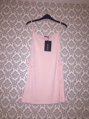 Pretty little thing lace up side dress size 10