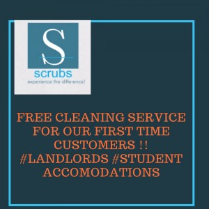 Free cleaning service to all business owners and 50% off to the non business owners