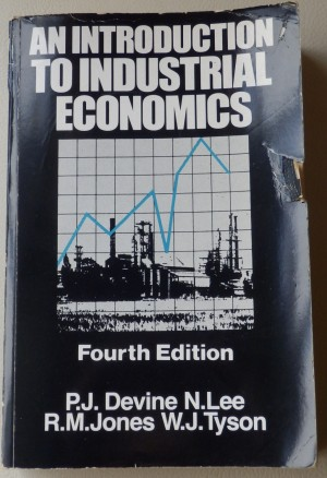 An Introduction to Industrial Economics book.