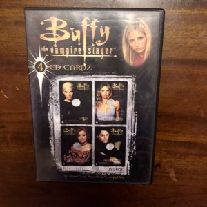 Buffy The Vampire Slayer 4 CD Cardz Set One Collectible Retro Software