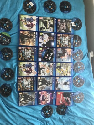 PS4 games MESSAGE AND ILL SEND YOU PRICES