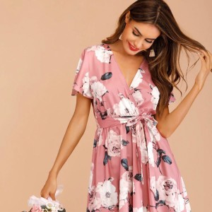 Gorgeous Pink Floral Dress