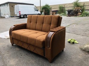 2 seater lovely new sofa-bed