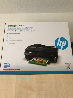 HP Officejet 4630 with printer table