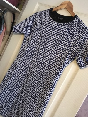 Topshop Blue Dress size uk 12