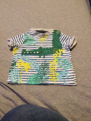Baby Boys F&F Multi-Coloured Top - Aged 0-3 Months