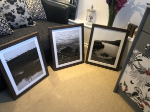Set of 3 landscape pictures