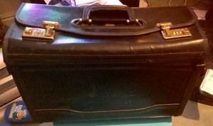 Leather Pilot Briefcase
