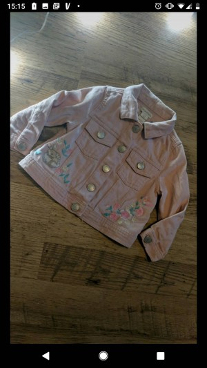 monsoon embroidered jacket size 12-18m