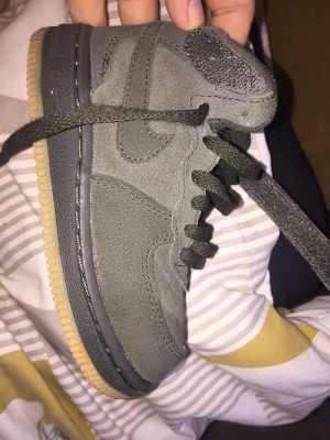 Infants size 7.5 Nike Air Force 1