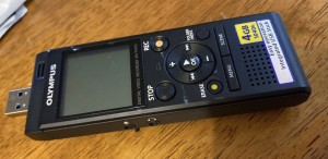Voice recorder good for recording lectures