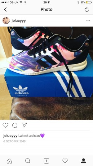 ladies size 8 adidas trainers