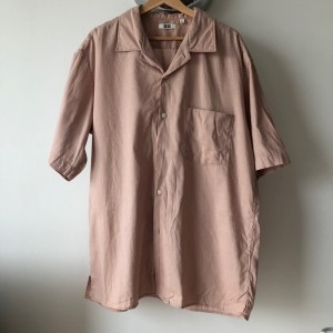Uniqlo U Lemaire relaxed fit linen shirt L-xL
