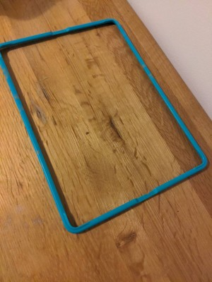 rectangle frame for iPad screen