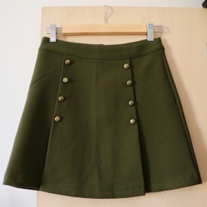 H&M Khaki Green Skirt