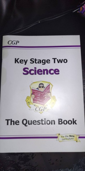 key stage two science question book