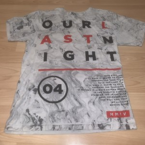 Our last night top